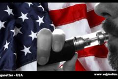 USA nekar tillstånd för miljontals smaksatta e-juicer.