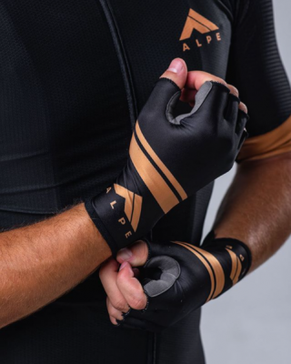 Alpe cycling gloves