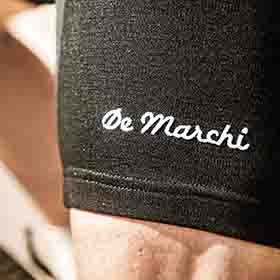 De Marchi merino lycra cycling shorts