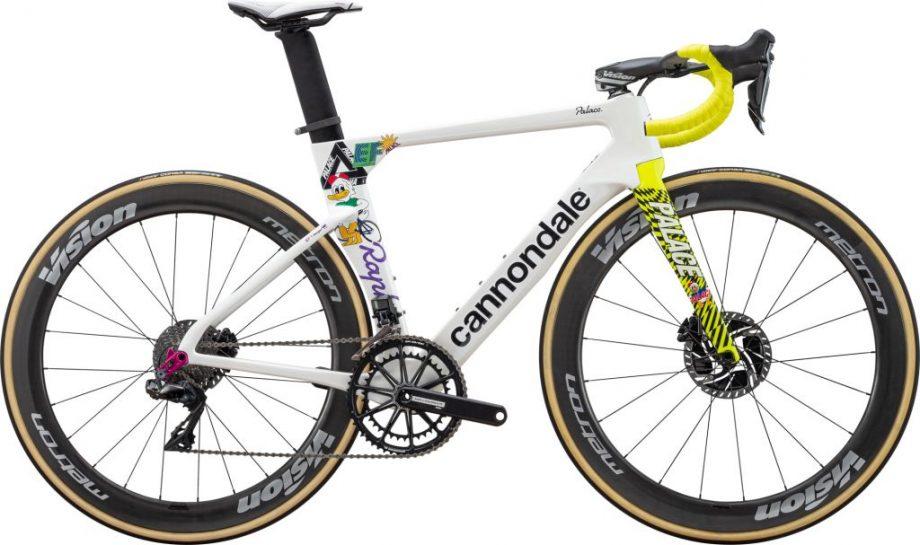 EF Pro Cycling Giro Cannondale SuperSix Evo