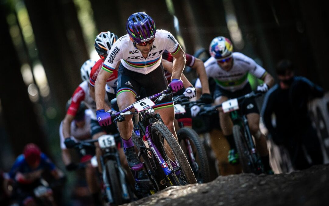 Scott team showing supersonic MTB collection in Nove Mesto