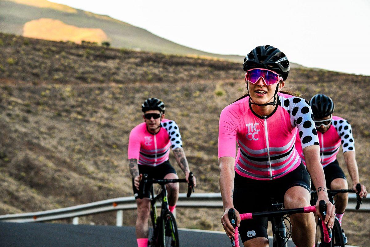 Tic-cc same colors different cycling clothes men vs women