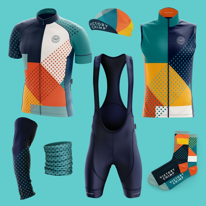 Victory Chimp Stampen Cycling Clothing Collection