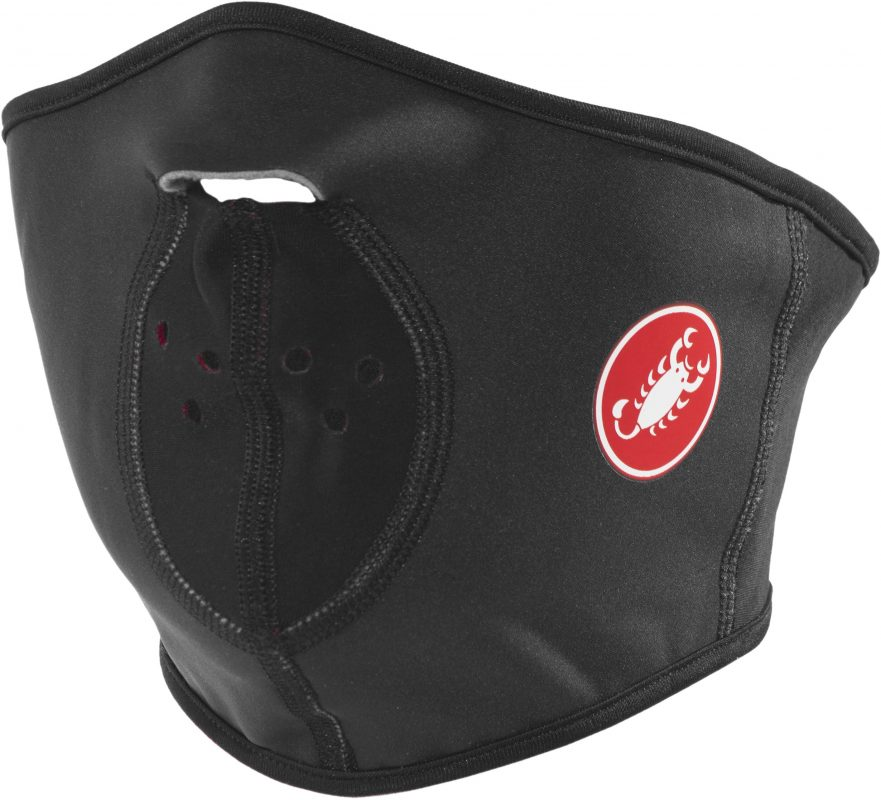 Castelli cycling face mask: water and wind protection