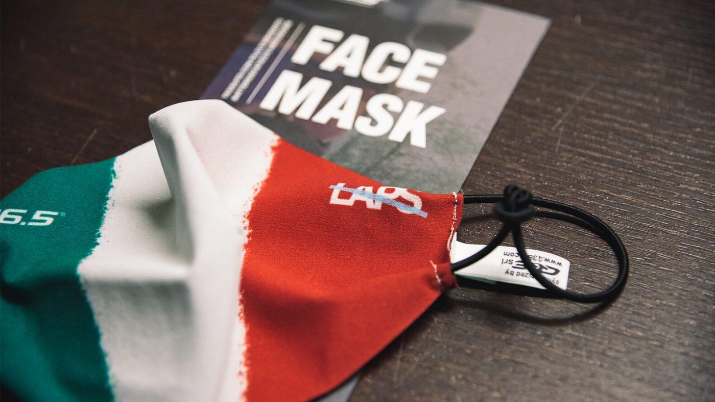 Q36.5 Italian Flag Face Mask