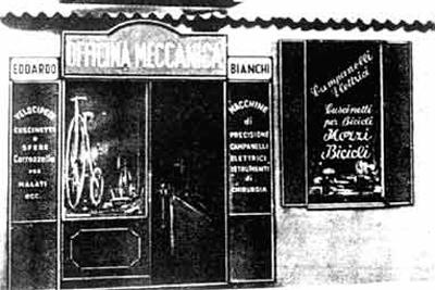 Bianchi shop via nirone 7 Milan