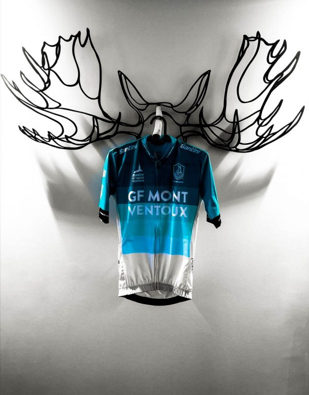 Proud owner of a Grand Fondo Mont Ventoux Cycling jersey