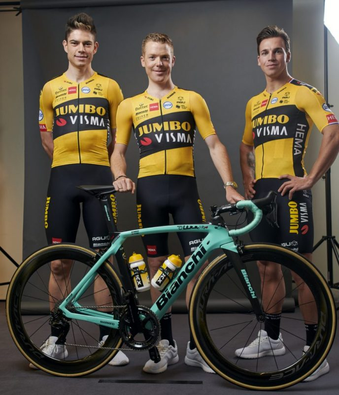 Jumbo Visma Team Bianchi Bike