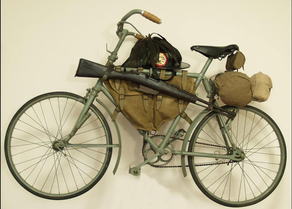 bianchi folding world war bicycle