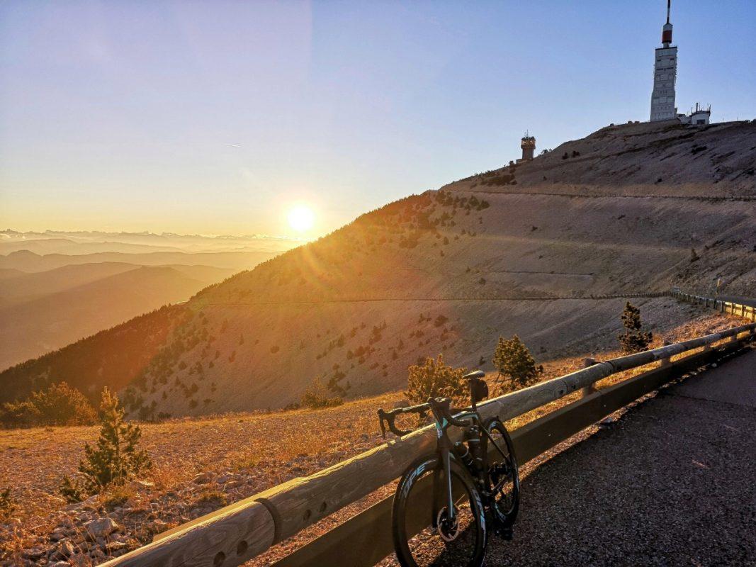 early morning Mont Ventoux Malaucène clim