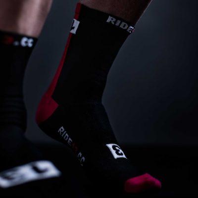 Thirteen cycling socks