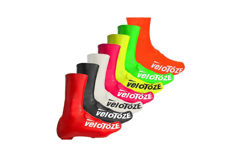 Velotoze latex overshoes in 8 colors