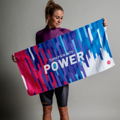 Subzero indoor cycling towel