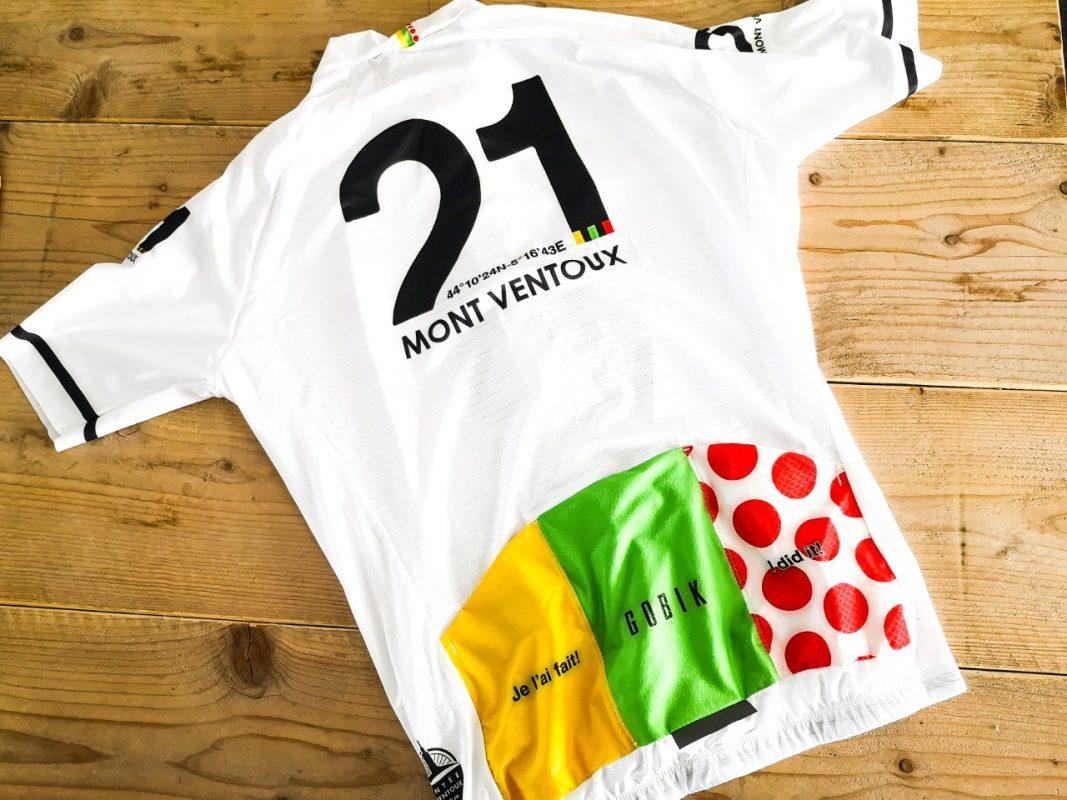 My l'étape du ventoux cycling jersey