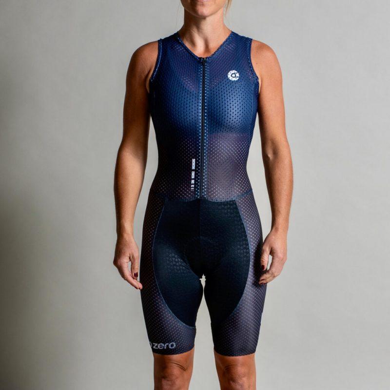The Nopinz zubzero indoor cycling apparel : suit for women