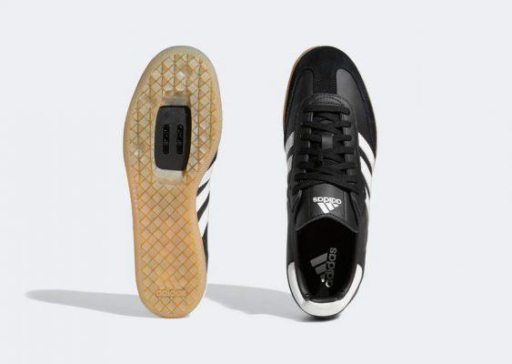 Adidas Black Velosamba Cycling Shoes