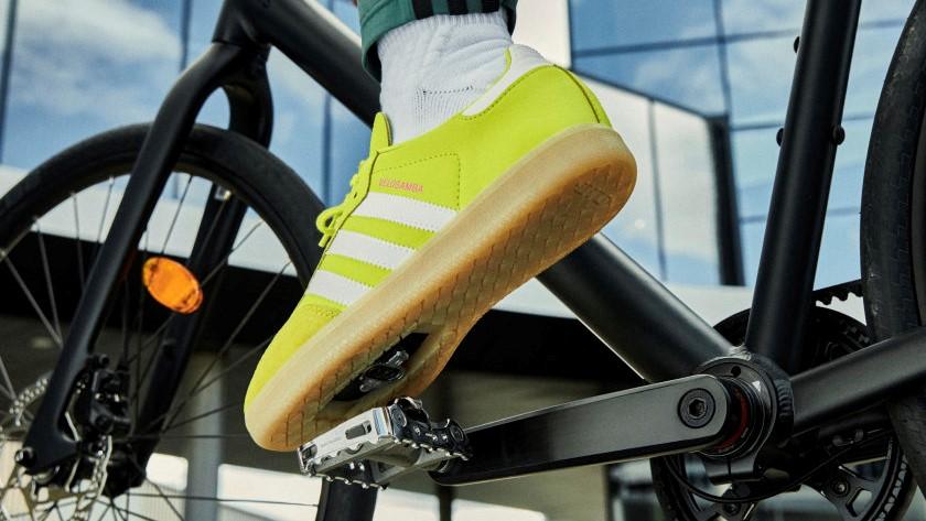 Adidas Velosamba Cycling Shoe Acid Yellow