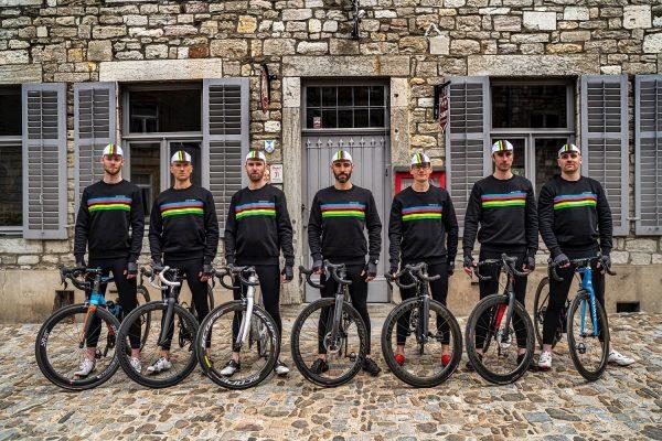 Antwrp Santini UCI Rainbow World Championship Cycling Clothing