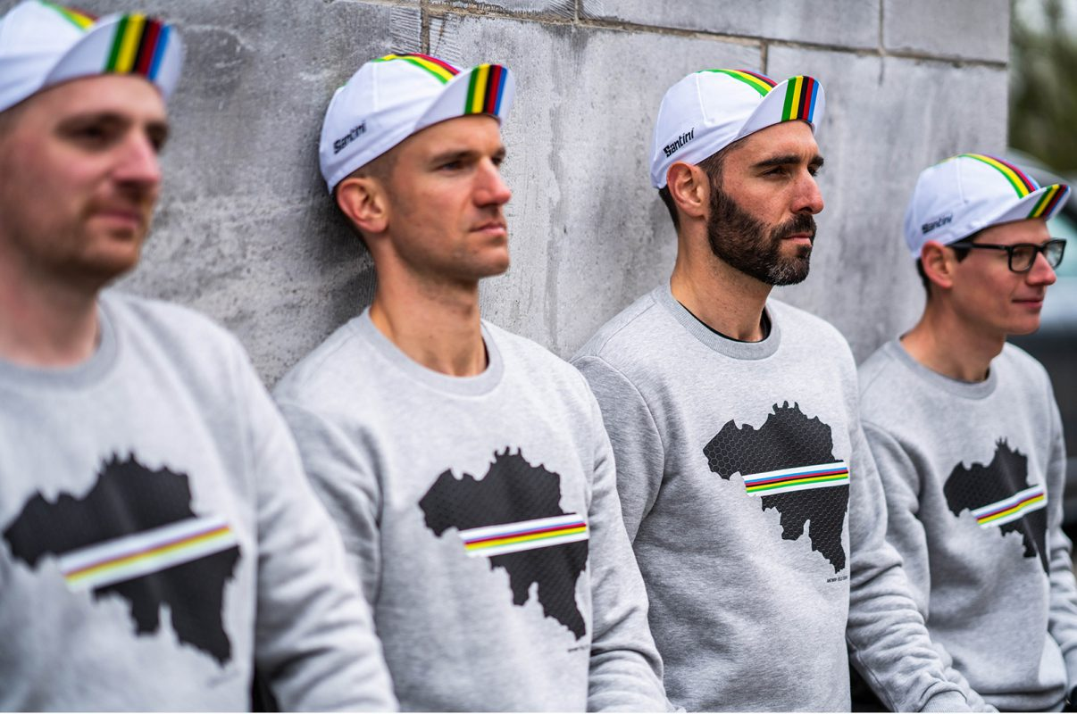 Santini and Antwrp UCI Cycling Clothing Sweaters