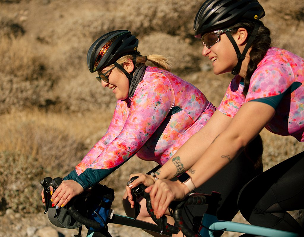 machines for freedom uv protection cycling jersey