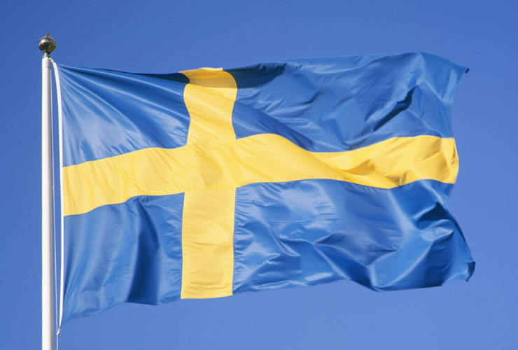 Vendeldagen svenska flaggan