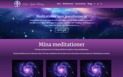 Nordic Light Healing – hemsida