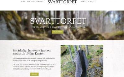 Svarttorpet.se – Hemsida för mitt eget småbruk