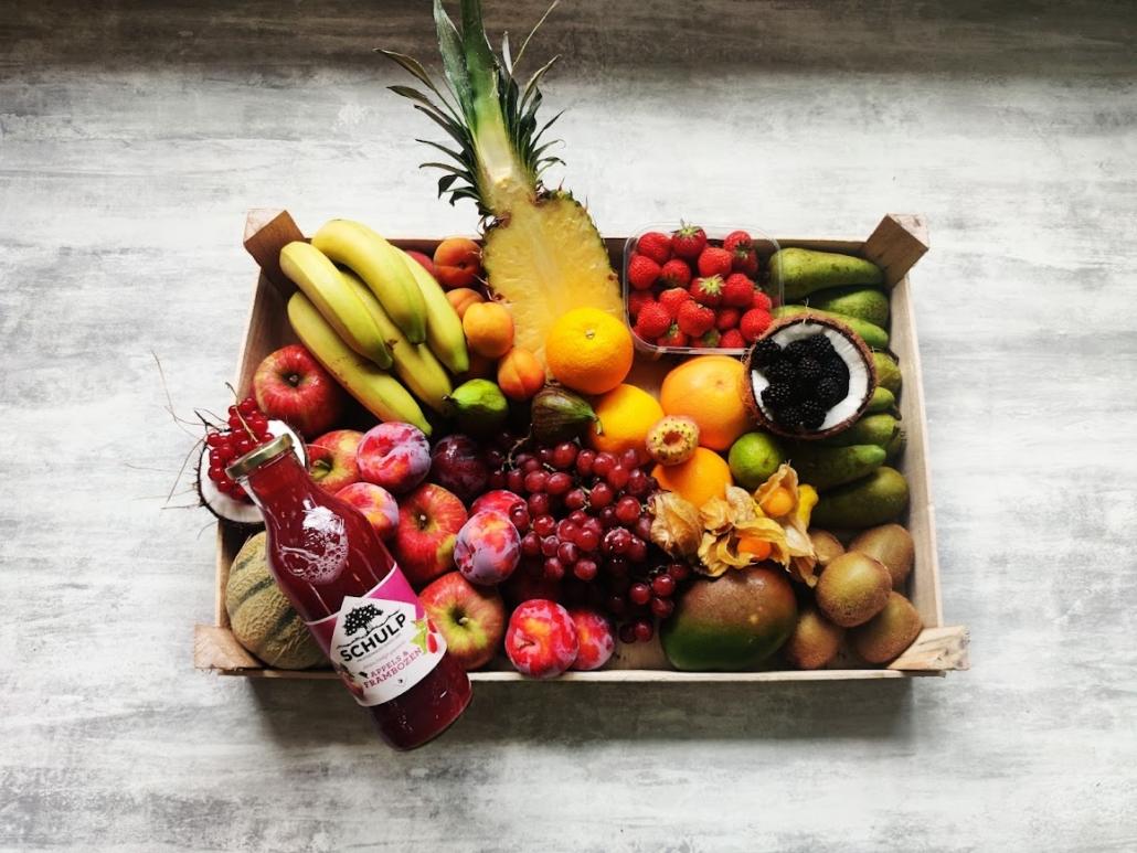 fruitmand aan huis