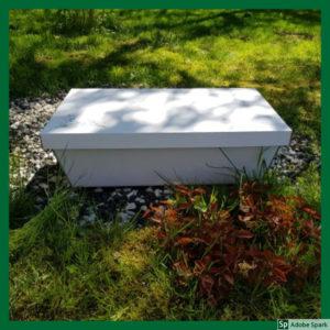 Kista för hembegravning är ett alternativ vid avlivning av hund och katt.