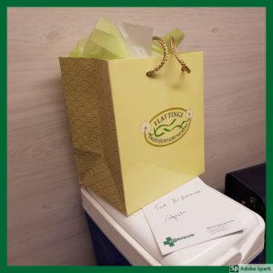 Separatkremering är ett alternativ vid avlivning vad gäller eftervård. Urnan med askan levereras i en vacker papperskasse.