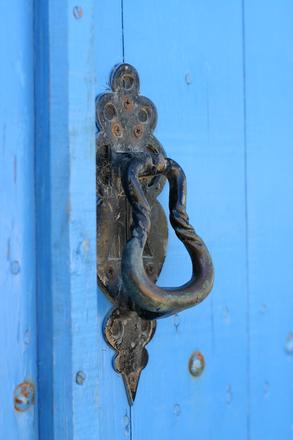 Puerta típica del Algarve
