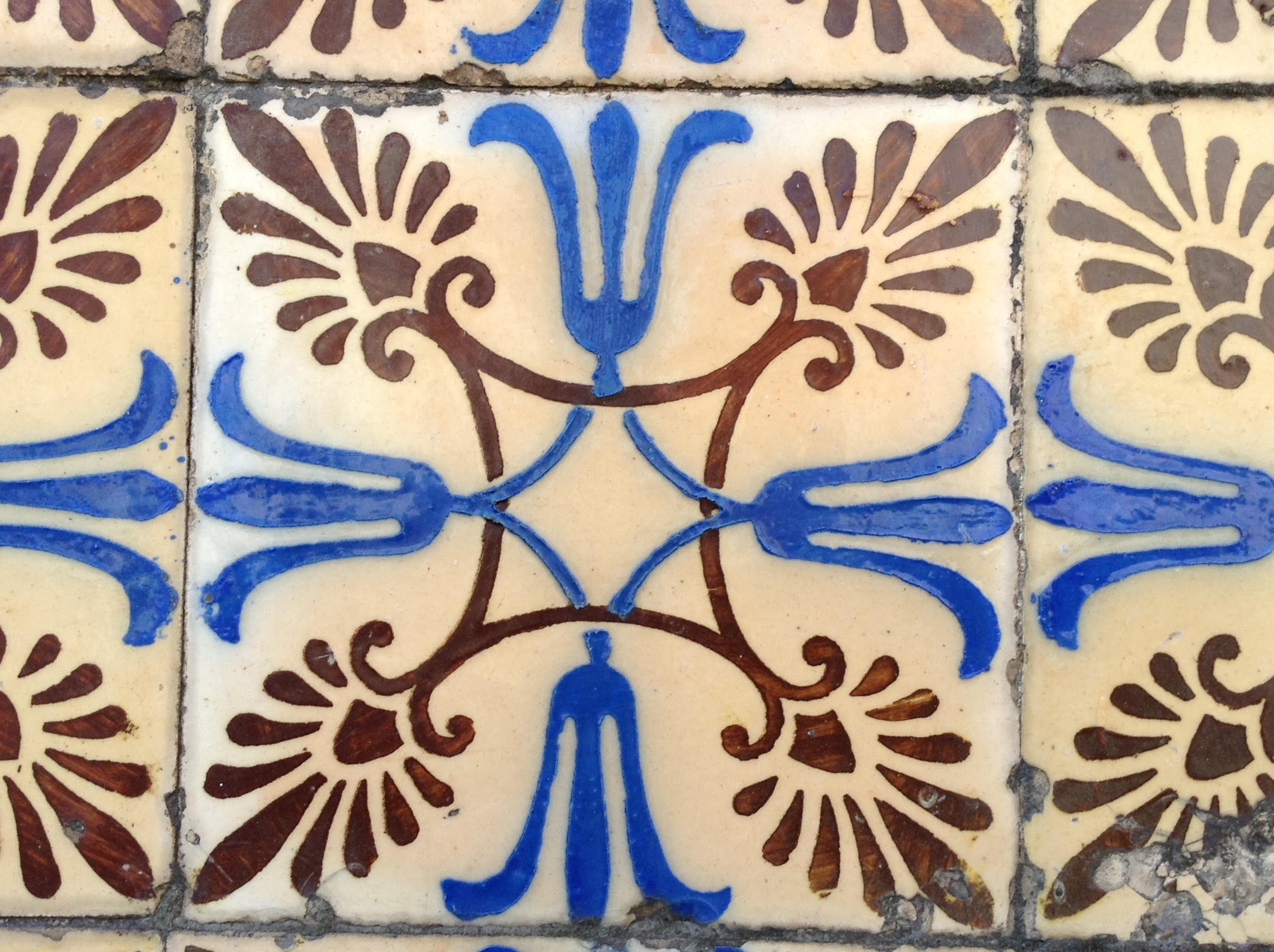 Azulejo de una Casa en Chaves Portugal