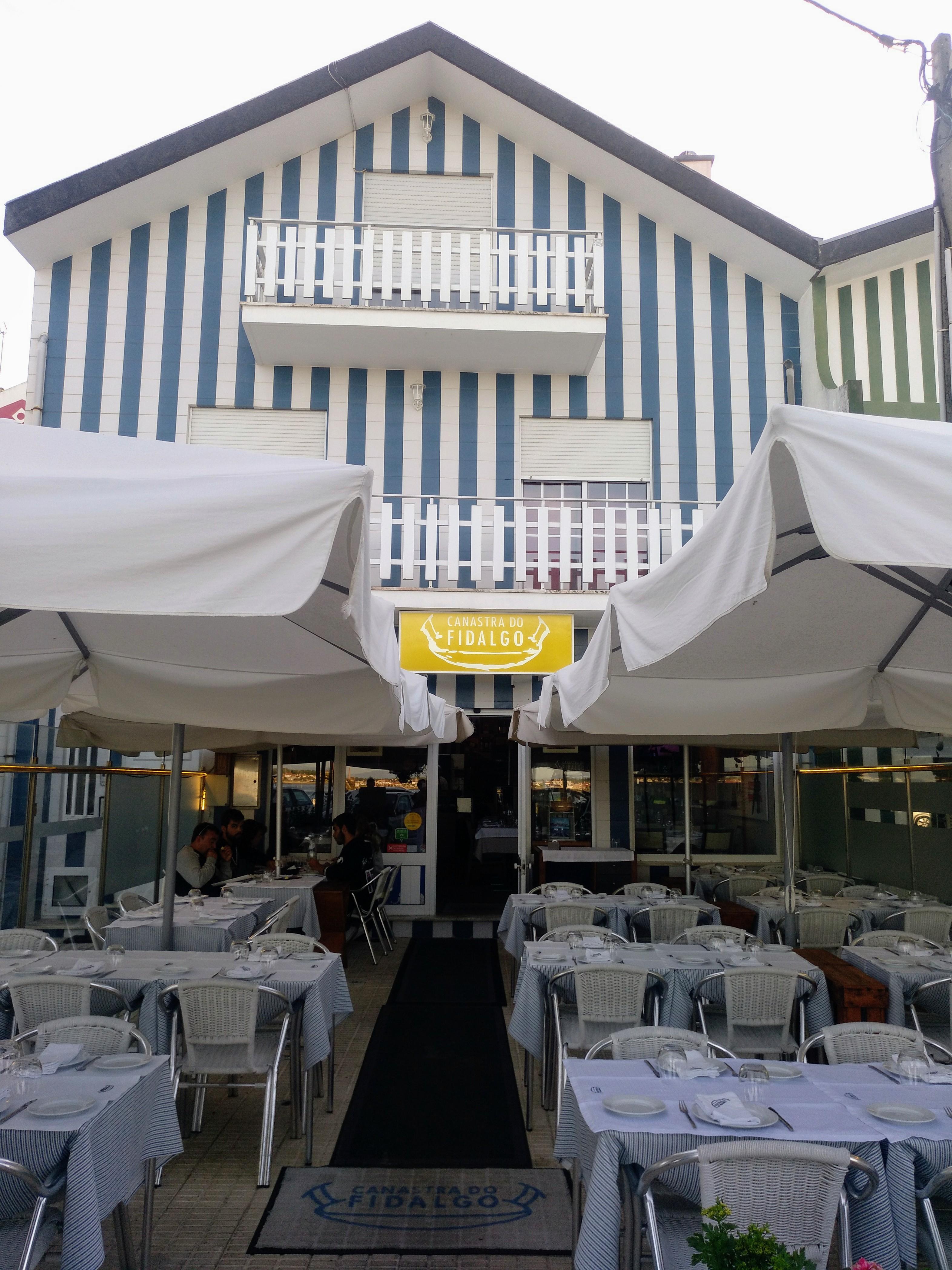 "Terraza del Restaurante ""Canastra do Fidalgo"""