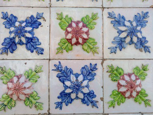 azulejos flores de epoca