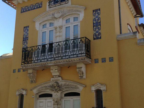 Casa del arquitecto Silva Rocha. Fue responsable de varios diseños Arte Nova en Aveiro