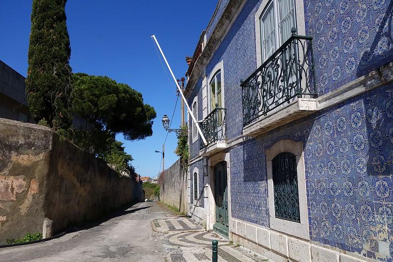 Fachada de azulejos azulejos Quinta dos Azulejos
