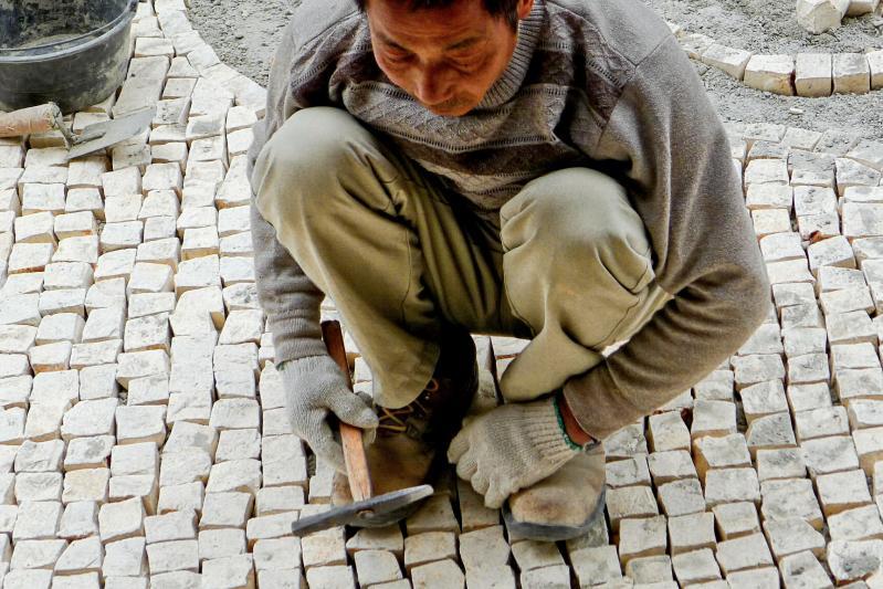 Oficio cuasi perdido es el de los calceteiros