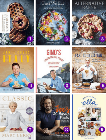 2018 cookbook gift guide