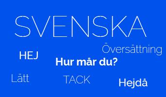 La langue Suédoise