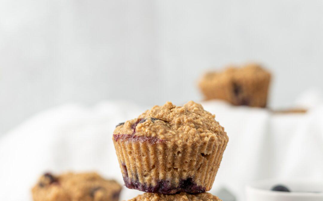Muffins sans sucre et sans lait