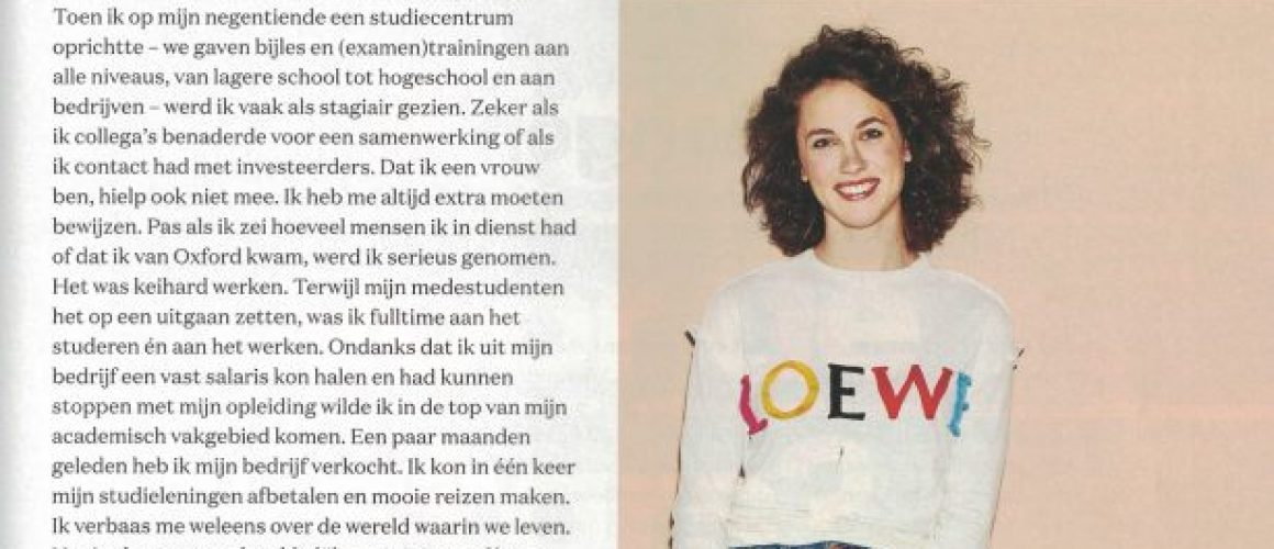 Glamour Vicky van der Zee