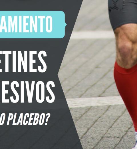 uso de calcetines compresivos beneficios o placebo running