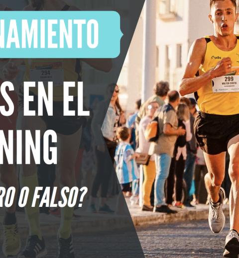 mitos entrenamiento en el running