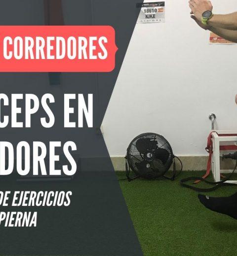 PROGRESION ejercicios cuadriceps una pierna para correrdores