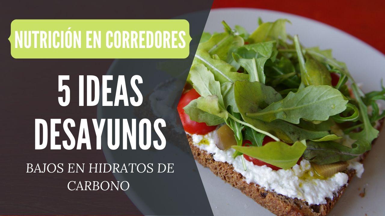 recetas desayuno bajas en hidratos de carbono
