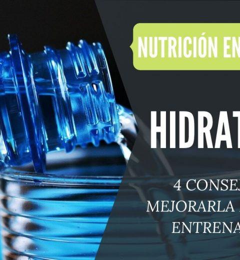 como mejorar hidratación durante el entrenamiento
