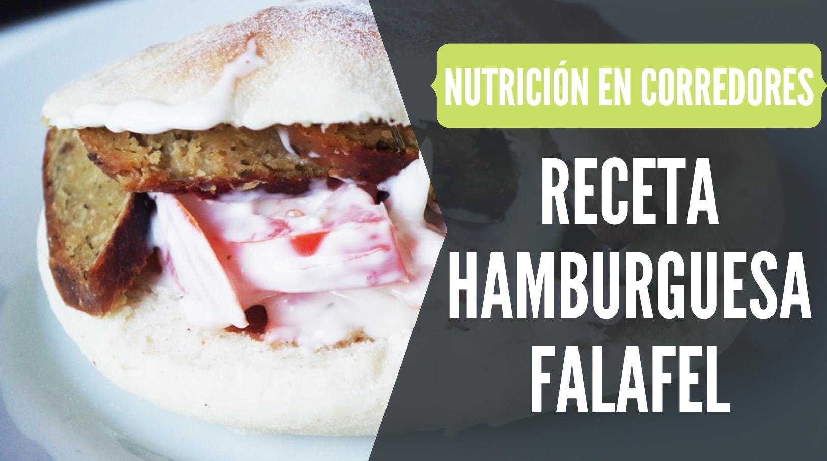 receta hamburguesa falafel