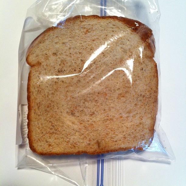 Kontrolposen er et stykke toastbrød, du kun har rørt med helt rene hænder.