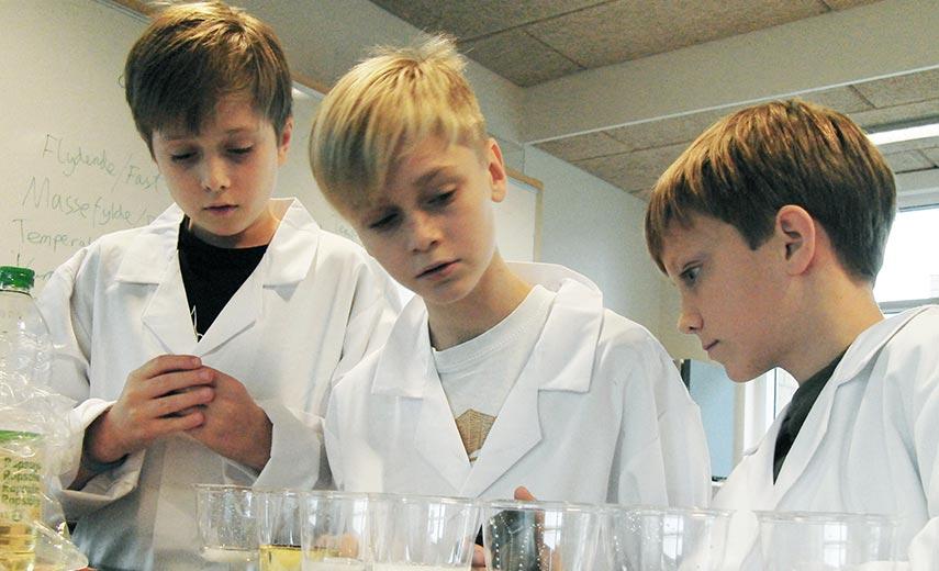 Videnskabsklubben udvikler nyt fysikprogram