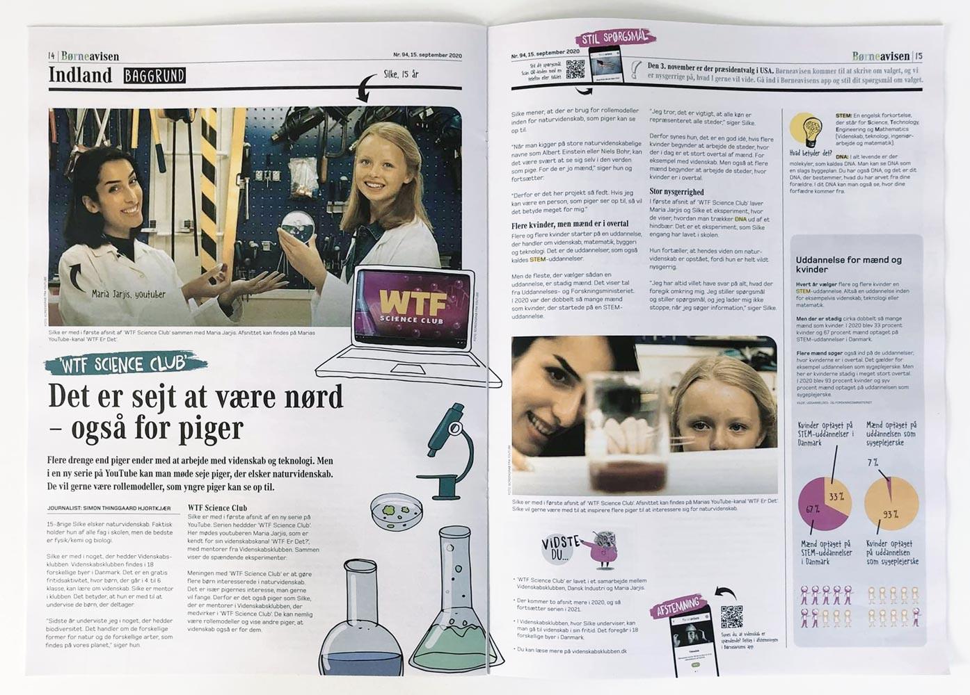 Presse - 15. september 2020 - Børneavisen